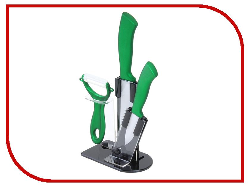 Набор ножей СИМА-ЛЕНД 1042830 Green
