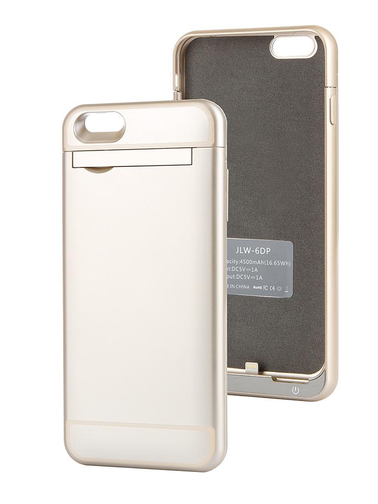 Аксессуар Чехол-аккумулятор Ainy 4500 mAh для iPhone 6 Plus Gold