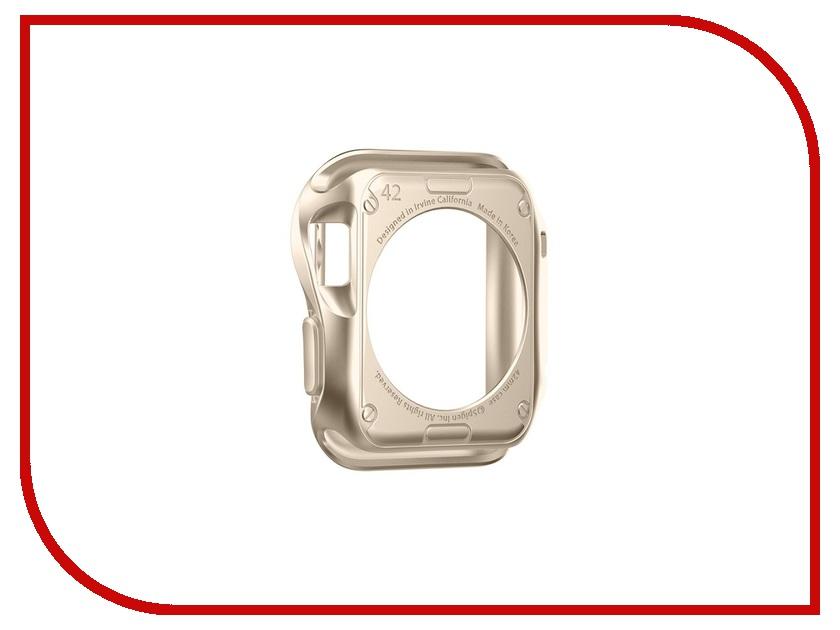Аксессуар Чехол APPLE Watch 42mm SGP Slim Armor Gold SGP11506<br>