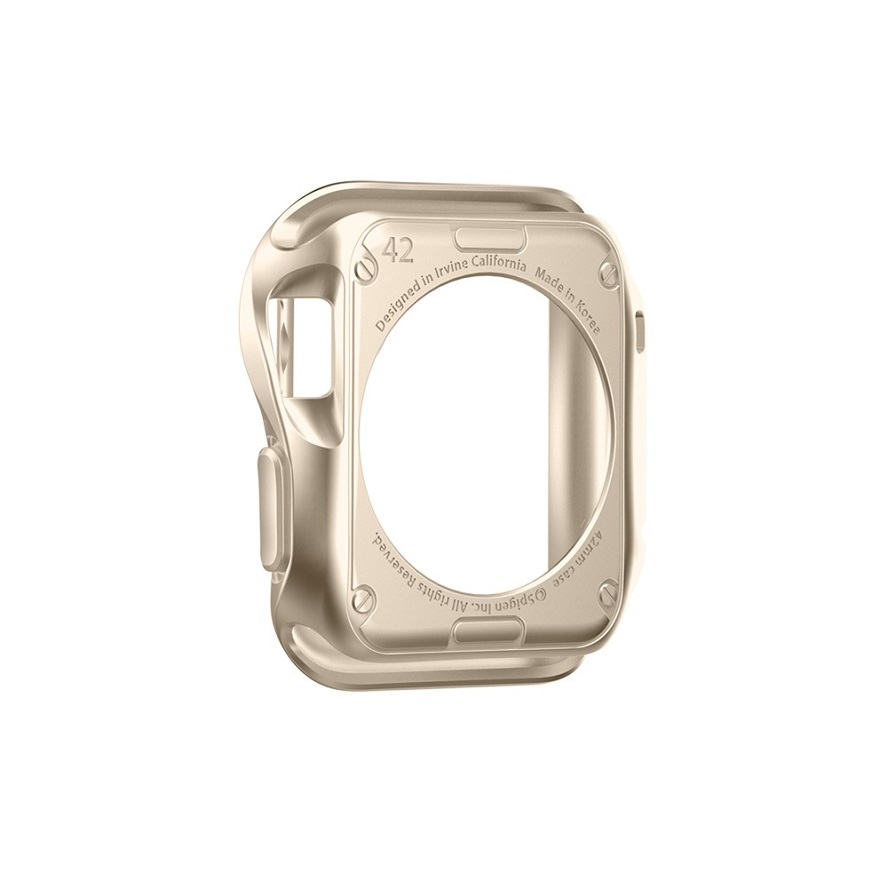 Аксессуар Чехол APPLE Watch 42mm Spigen SGP Slim Armor Gold SGP11506 от Pleer