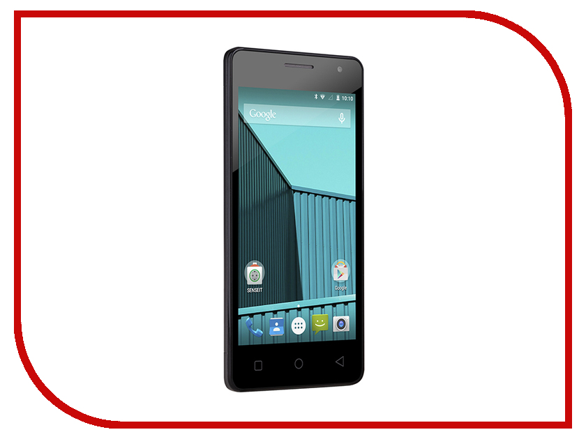 Сотовый телефон SENSEIT E400 Blue<br>