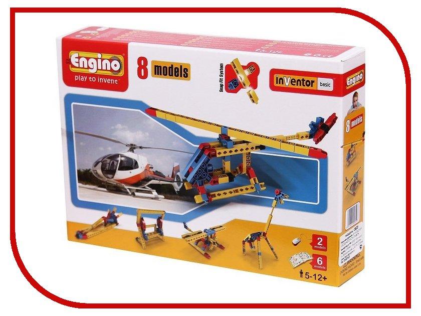 Конструктор Engino База 0820 8 моделей из одного