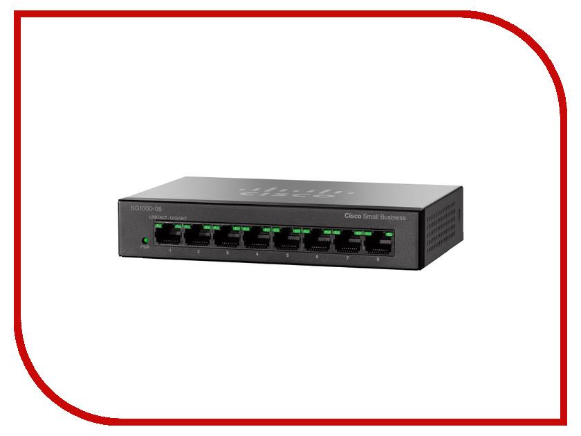 Коммутатор Cisco SG110D-08<br>