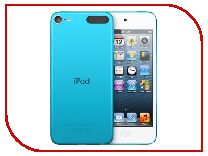 Плеер APPLE iPod Touch 6 - 16Gb Blue MKH22RU/A green comfort ботинки green comfort модель 274885048