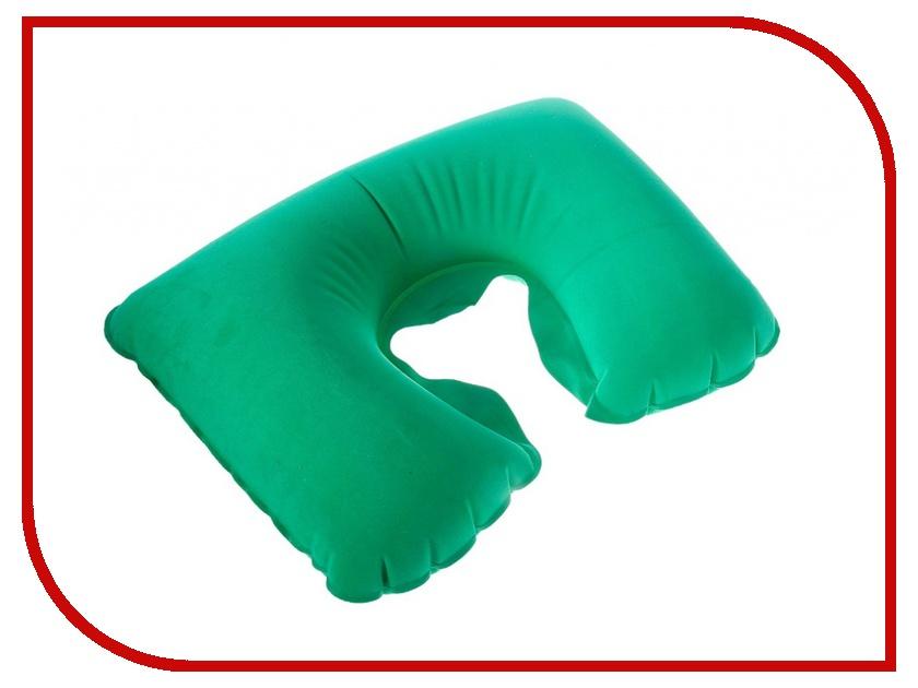Подушка Командор Подушка дорожная надувная 38x24cm Green 135632<br>