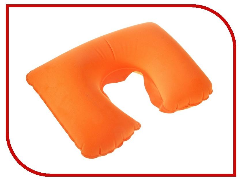 Подушка Командор Подушка дорожная надувная 38x24cm Orange 135633<br>