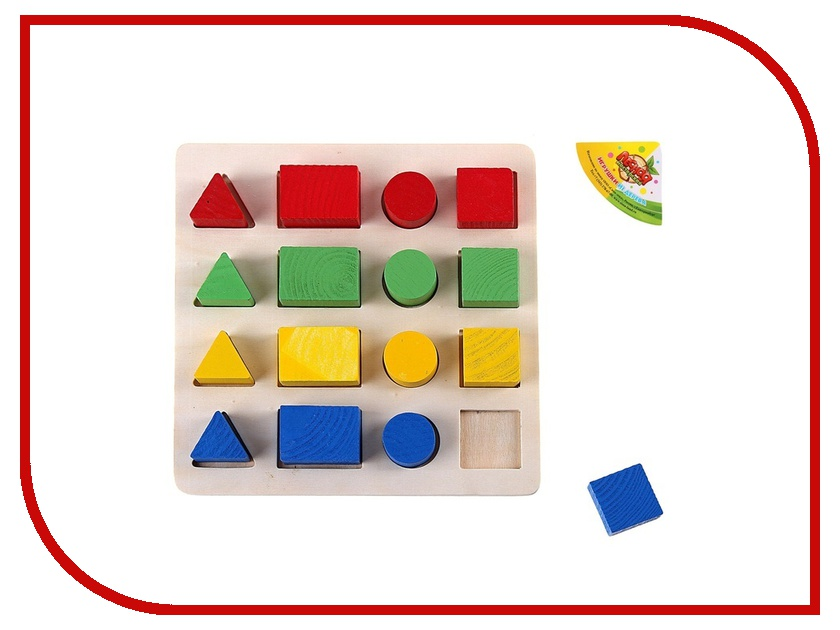Игрушка Лесная мастерская Изучаем цвета и фигуры 465208 прометей лесная быль