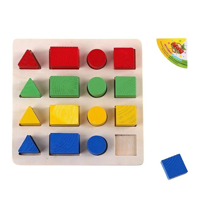 Развивающая игрушка Лесная мастерская Изучаем цвета и фигуры 465208