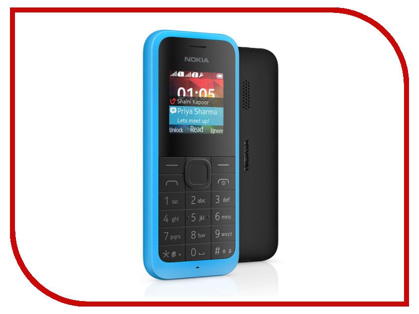 Сотовый телефон Nokia 105 Dual Sim Blue