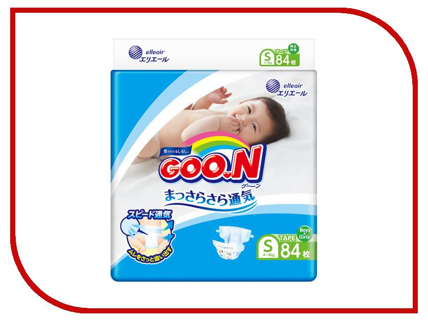 Подгузники Goo.N S 4-8кг 84шт 4902011751321<br>