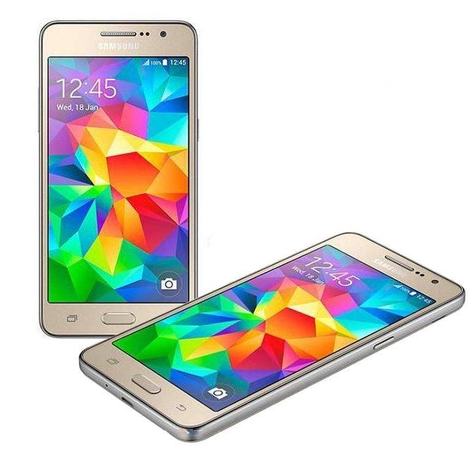 Сотовый телефон Samsung SM-G531H Galaxy Grand Prime Duos Gold<br>