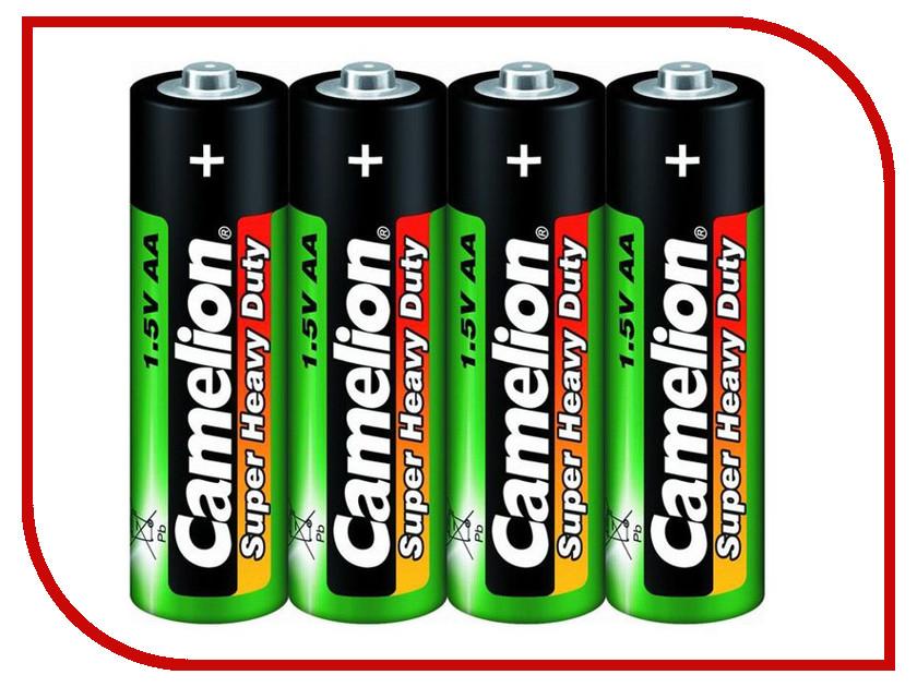 Батарейка AA - Camelion R6 SR-4 R6P-SP4G (4 штуки)