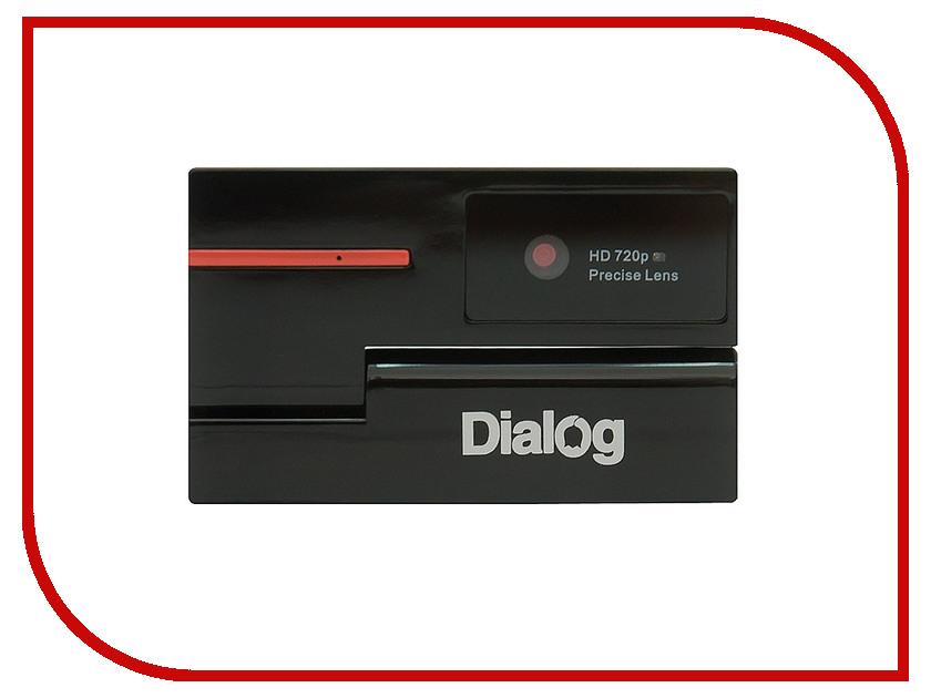 Вебкамера Dialog WC-51 Black-Red<br>