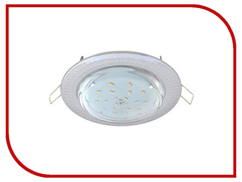 Светильник Ecola GX53 H4 Чеканка Chrome FC61H4ECB<br>