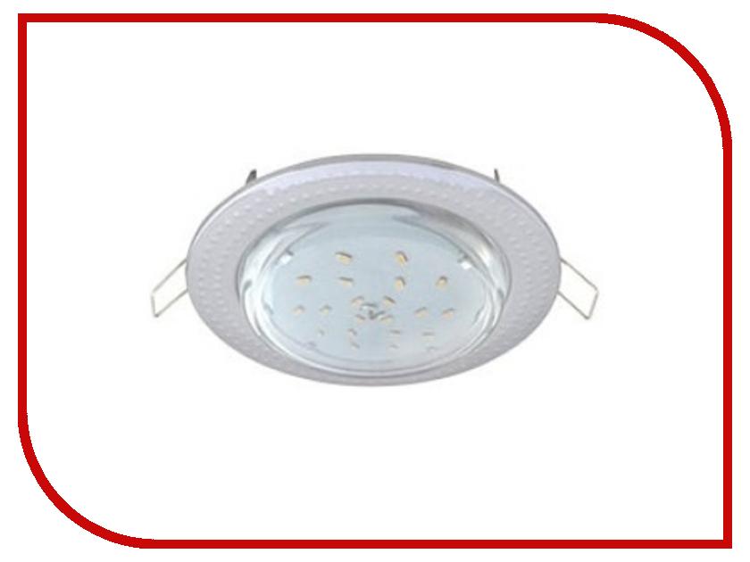 Светильник Ecola GX53 H4 Чеканка Chrome FS61H4ECB ecola gx53 h4 black chrome