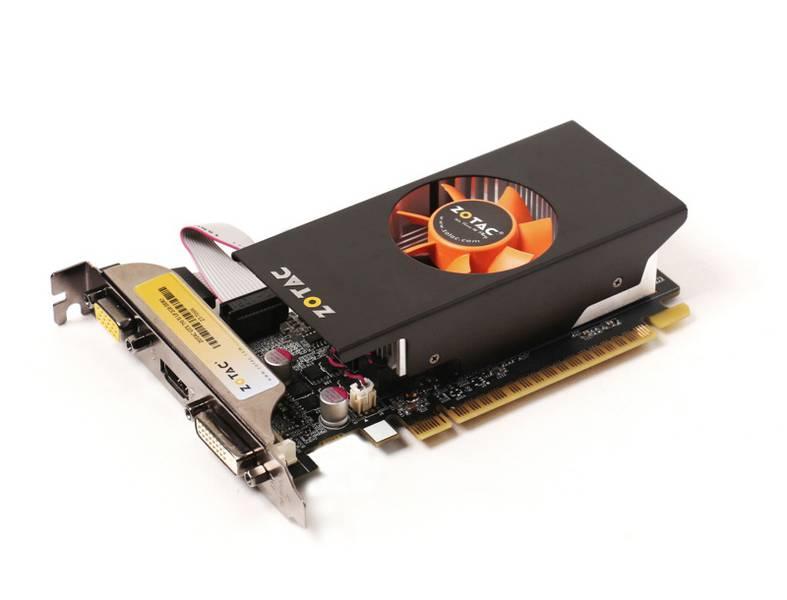 Видеокарта Zotac GeForce GTX 750 Ti 1033Mhz PCI-E 3.0 2048Mb 5400Mhz 128 bit DVI HDMI HDCP Low Profile ZT-70606-10M