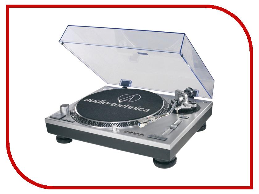 цена на Проигрыватель виниловых дисков Audio-Technica AT-LP120 USB HS10 Silver