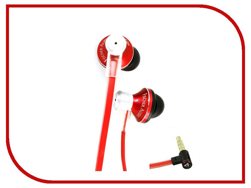 Гарнитура Fischer Audio iCon Red<br>