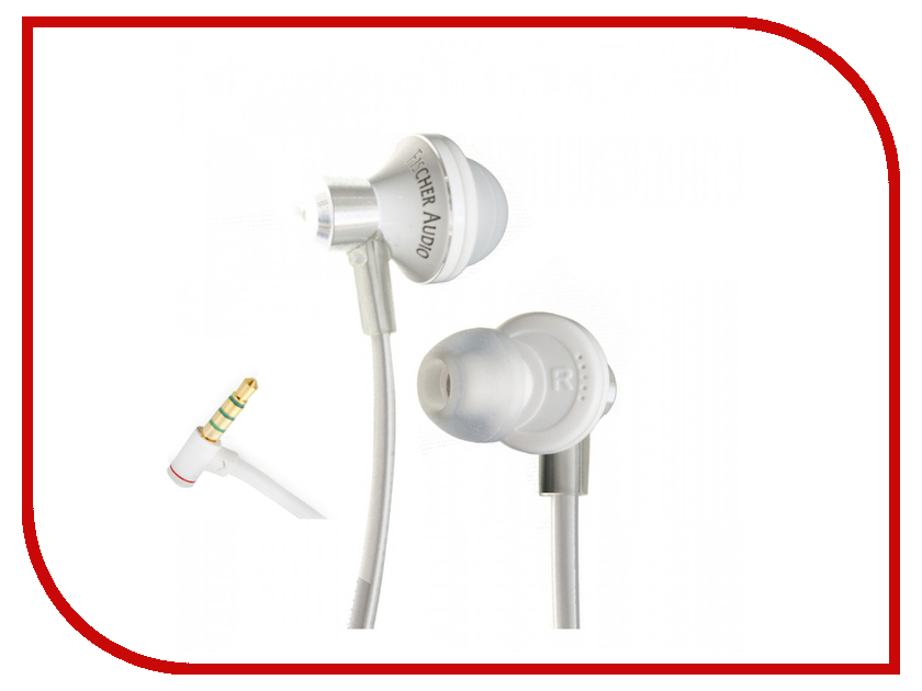 Гарнитура Fischer Audio iCon White<br>