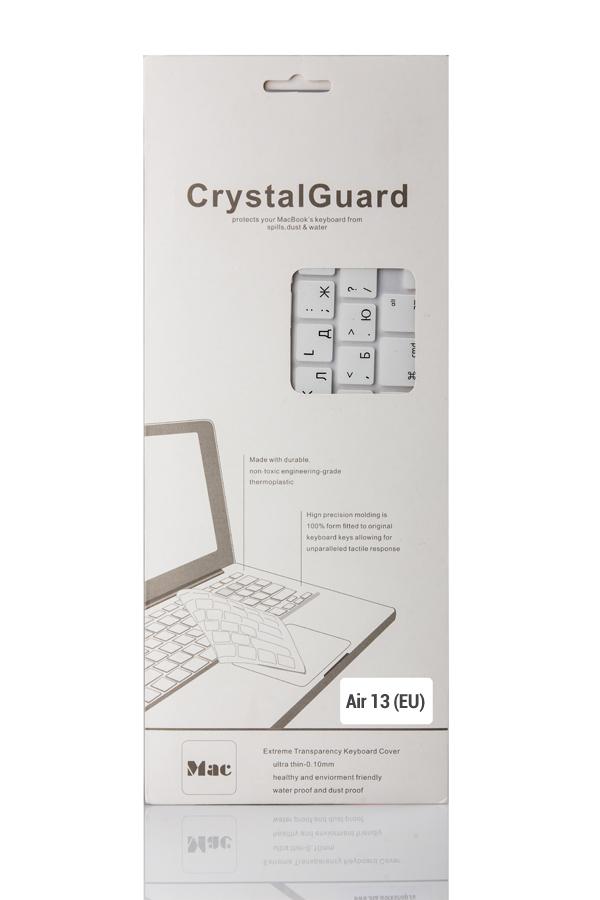 Аксессуар BTA CrystalGuard (EU) White BTA-13-1301 Накладка на клавиатуру для ноутбука MacBook Air 13