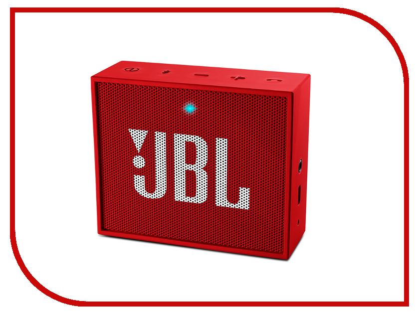 Колонка JBL Go Red<br>