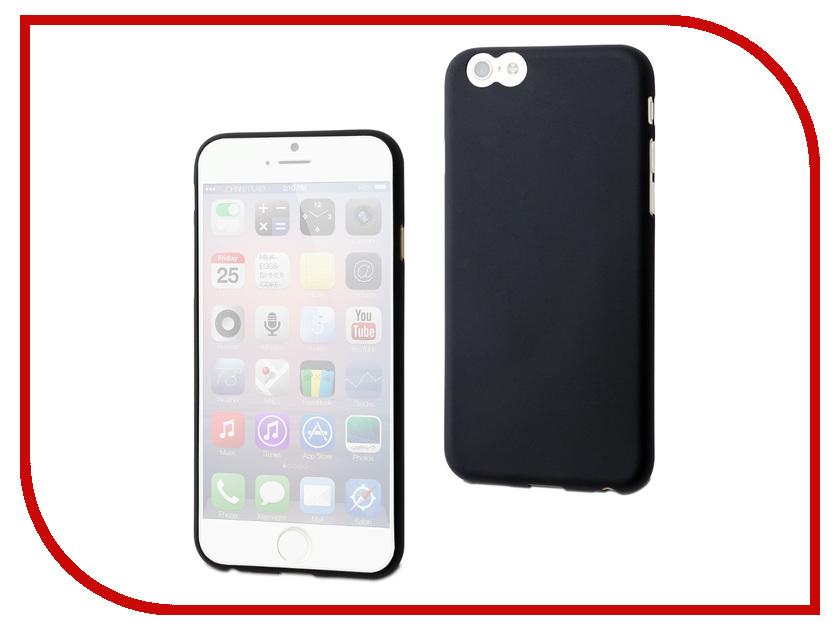 Аксессуар Чехол Muvit Thingel Case для iPhone 6 Black MUSKI0321<br>