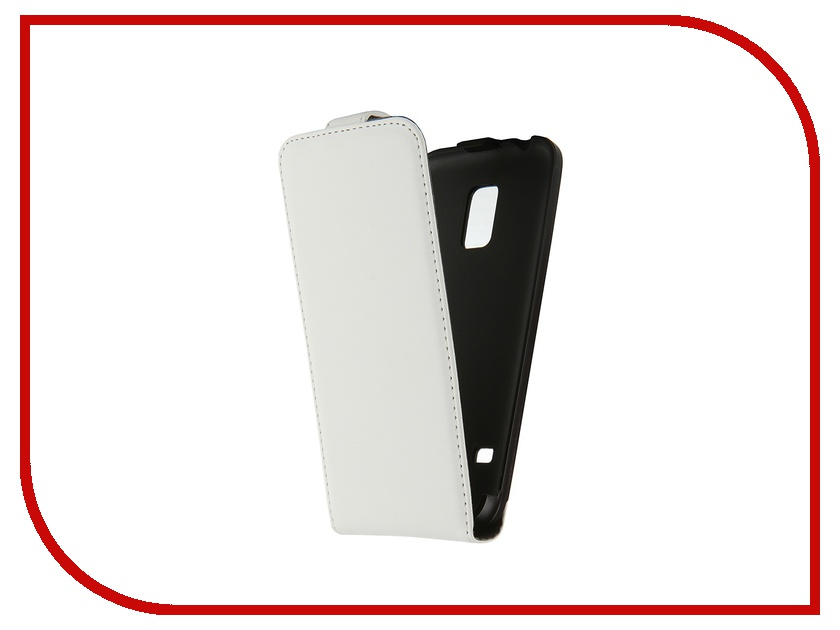 ��������� ����� Samsung Galaxy S5 mini Muvit Slim Case White MUSLI0497