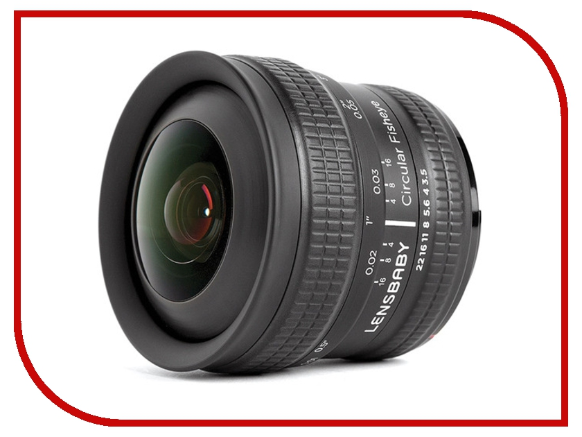 Объектив Lensbaby Circular Fisheye for Sony E 83016 / LBCFEX