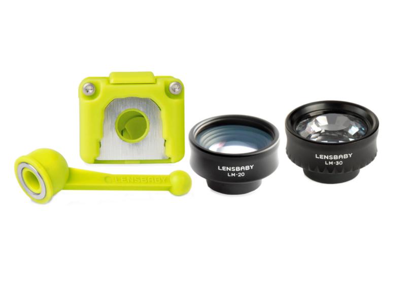 Объектив Lensbaby Creative Mobile Kit для iPhone 5/5s 83234 - набор дисков диафрагм
