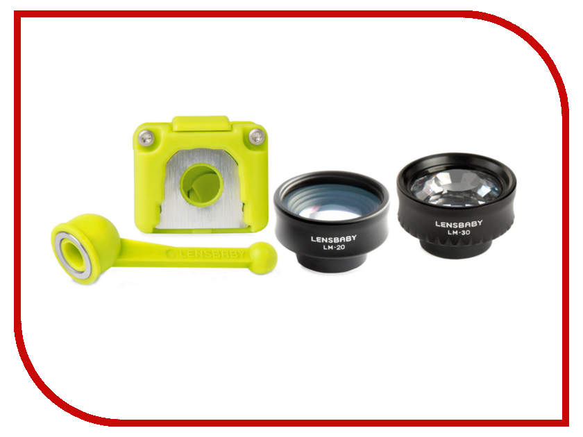 Объектив Lensbaby Creative Mobile Kit Android/iPhone 5c 83233 - набор дисков диафрагм