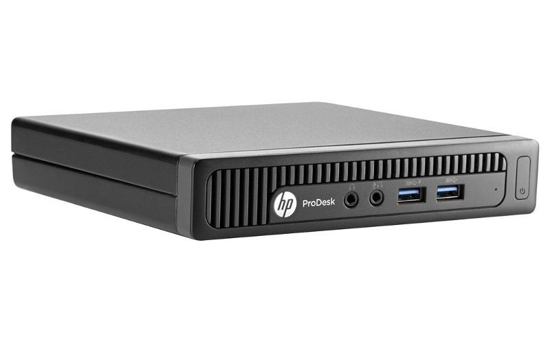 Неттоп HP 400 G1 Desktop Mini HPP-M3X28EA (Intel Pentium G3250T 2.8 GHz/4096Mb/500Gb/No DVD/Intel HD Graphics/Wi-Fi/Windows 8.1)