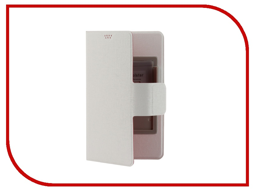 Аксессуар Чехол Media Gadget for Smarterra TFC SlideUP M 4.4-5.0-inch универсальный Red-White аксессуар smarterra str al001m black