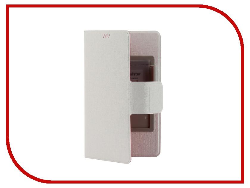 Аксессуар Чехол Media Gadget for Smarterra TFC SlideUP L 5.1-5.5-inch универсальный Red-White<br>