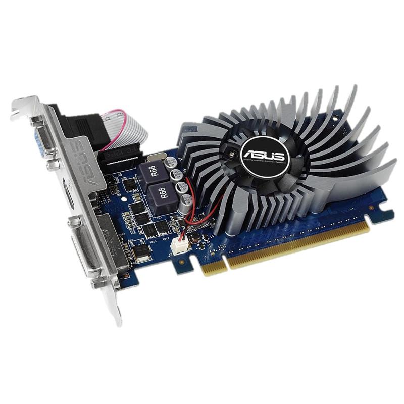 Видеокарта ASUS GeForce GT 730 902Mhz PCI-E 2.0 2048Mb 5010Mhz 64 bit DVI HDMI HDCP GT730-2GD5-BRK цены