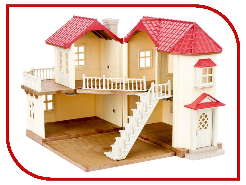 Кукольный домик Sylvanian Families со светом 2752 дерево дом sylvanian families