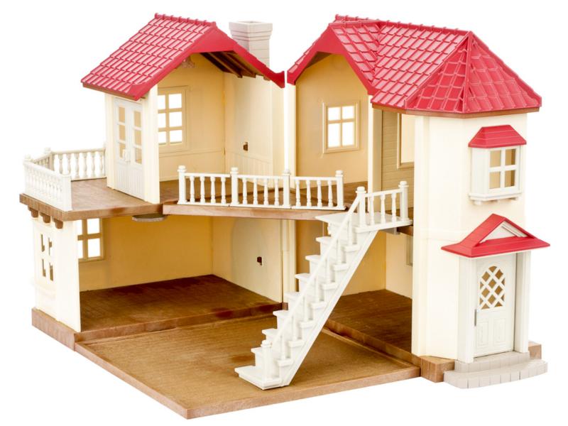 Кукольный домик Sylvanian Families со светом 2752