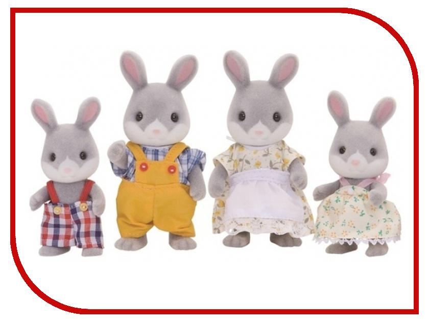 Игрушка Sylvanian Families Семья Серых Кроликов 4030 игрушка sylvanian families семья серых кроликов