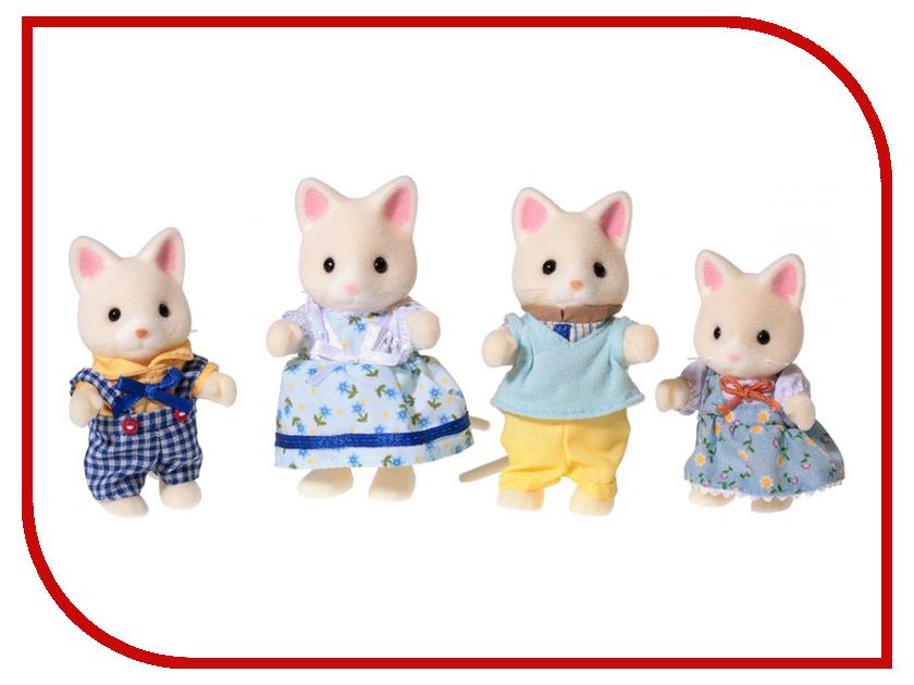 Игрушка Sylvanian Families Семья Кошек 4175 / 3143 игрушка sylvanian families семья серых кроликов