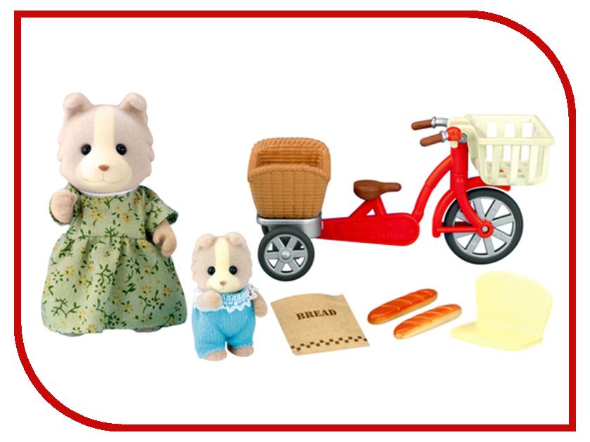 Игрушка Sylvanian Families Велосипедная прогулка 2236 игрушка sylvanian families семья персидских котов 3137