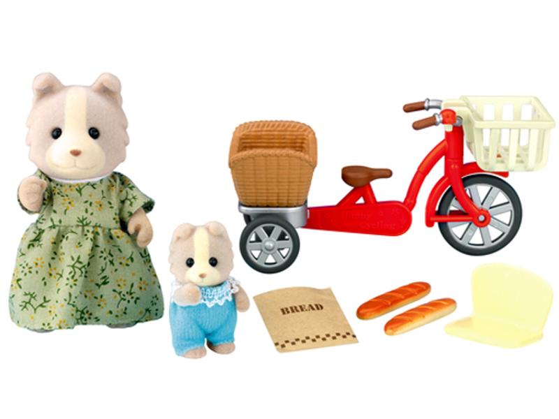 Игрушка Игровой набор Sylvanian Families Велосипедная прогулка 2236 / 4281