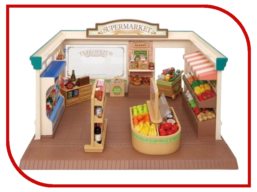 Игровой набор Sylvanian Families Супермаркет 2887 / 5049