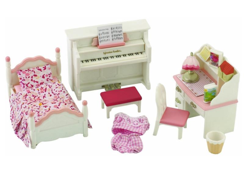 цена Игровой набор Sylvanian Families Детская комната White-Pink 2953 / 5032 онлайн в 2017 году