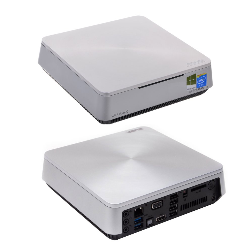 Неттоп ASUS VivoPC VM40B-S081M 90MS0011-M01440 Intel Celeron 1007U 1.5 GHz/4096Mb/500Gb/Intel HD Graphics/Wi-Fi/Bluetooth/DOS