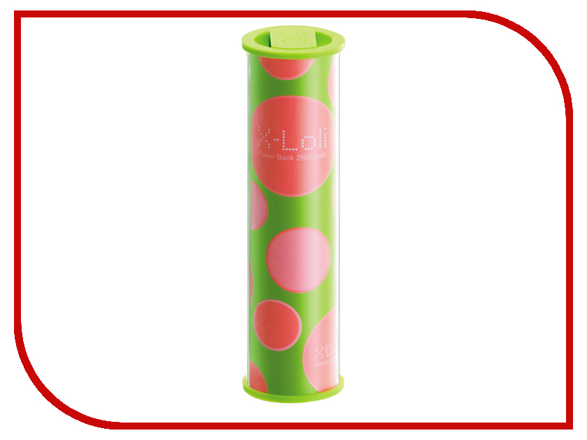 Аккумулятор XDREAM X-Loli 2800mAh Green<br>