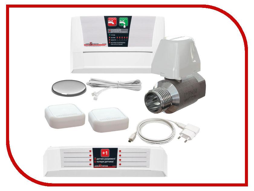 Система контроля протечки воды Аквасторож Эксперт Радио 1x25 ТН76