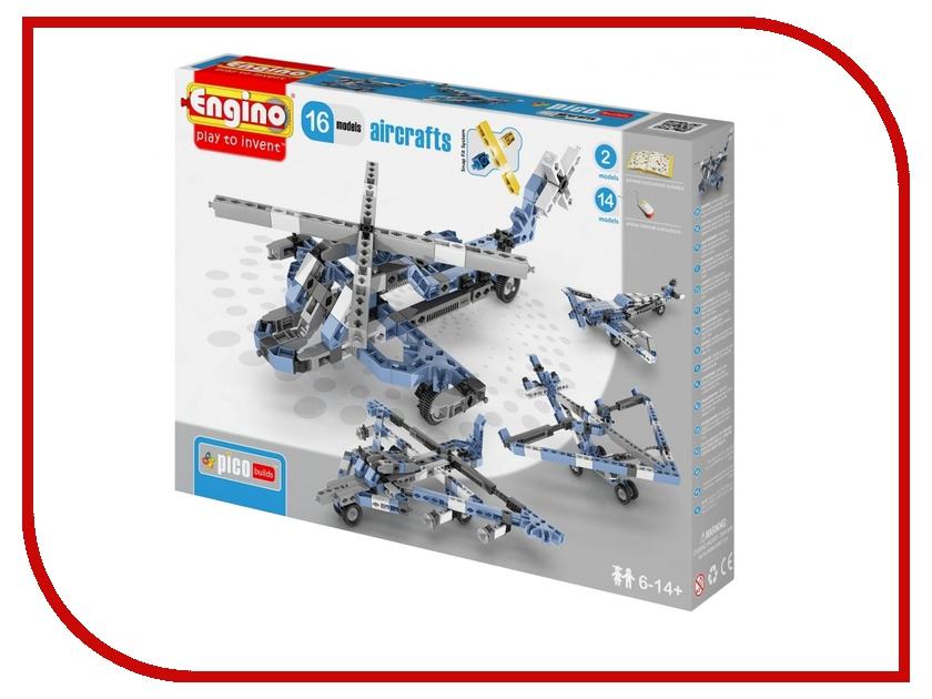 Игрушка Конструктор Engino Pico Builds Самолеты 16 моделей из одного<br>