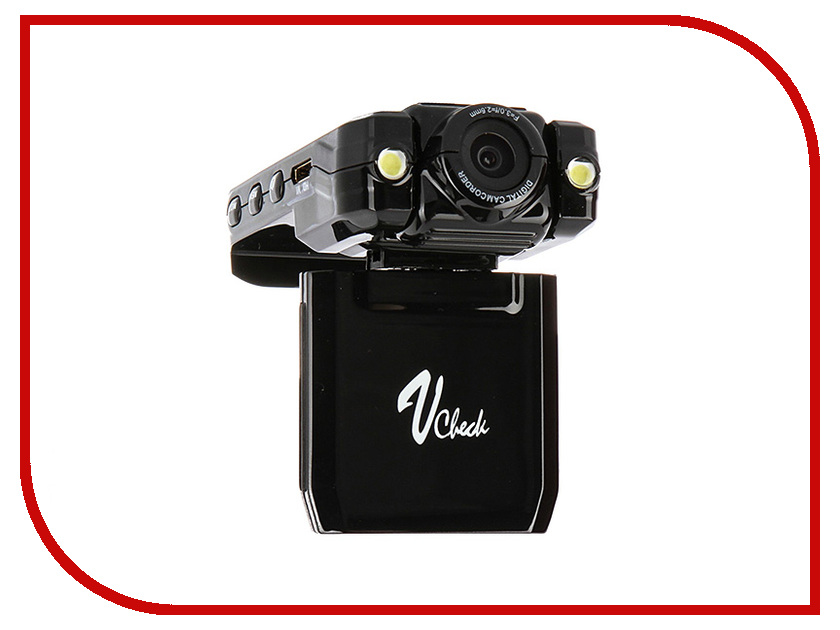 Видеорегистратор V-Check VR-A600 Black видеорегистратор erisson vr gf104