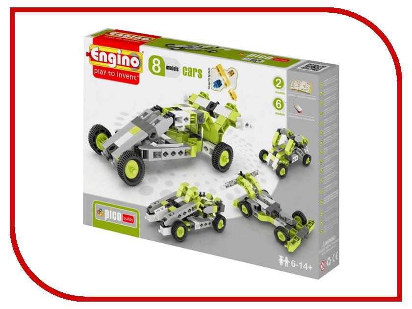 Конструктор Engino Pico Builds Автомобили 8 моделей из одного