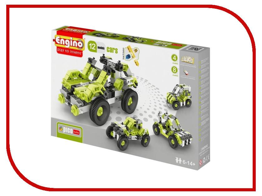 Игрушка Конструктор Engino Pico Builds Автомобили 12 моделей из одного<br>