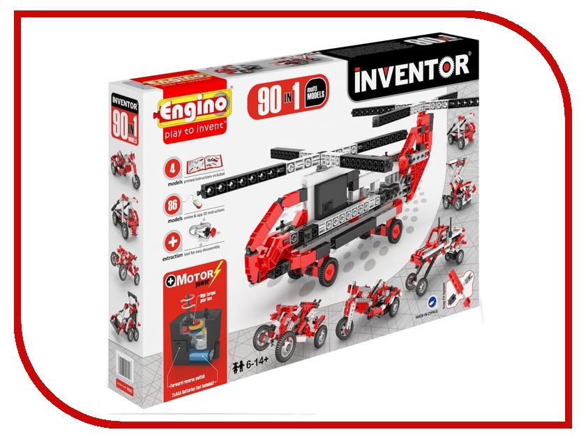Конструктор ENGINO Inventor Special Edition 9030 90 моделей с двигателем engino конструктор inventor приключения 170 элементов